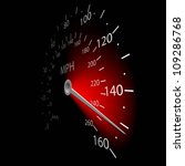 illustration of the speedometer ... | Shutterstock .eps vector #109286768