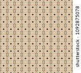 retro geometric pattern in...   Shutterstock . vector #1092875078