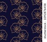 luxury background vector.... | Shutterstock .eps vector #1092876458