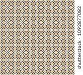retro geometric pattern in... | Shutterstock . vector #1092877082