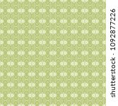 green geometric pattern in... | Shutterstock . vector #1092877226