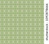 green geometric pattern in... | Shutterstock . vector #1092878666