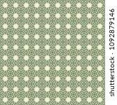 green geometric pattern in... | Shutterstock . vector #1092879146