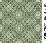 green geometric pattern in... | Shutterstock . vector #1092879206
