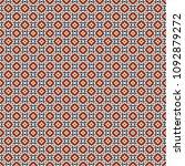 retro geometric pattern in... | Shutterstock . vector #1092879272