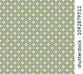 green geometric pattern in... | Shutterstock . vector #1092879512