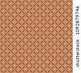 retro geometric pattern in... | Shutterstock . vector #1092879746
