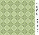 green geometric pattern in... | Shutterstock . vector #1092880016