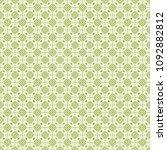 green geometric pattern in... | Shutterstock . vector #1092882812