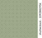 green geometric pattern in... | Shutterstock . vector #1092882956