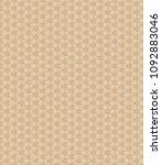 retro geometric pattern in... | Shutterstock . vector #1092883046