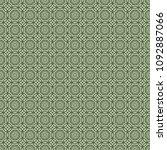 green geometric pattern in... | Shutterstock . vector #1092887066