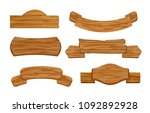 vector illustration set of... | Shutterstock .eps vector #1092892928