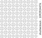 seamless abstract black texture ... | Shutterstock . vector #1092924476