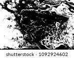 black and white liquid texture. ... | Shutterstock .eps vector #1092924602