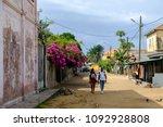 grand bassam  cote d ivoire  ...   Shutterstock . vector #1092928808