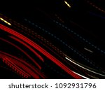 color magic line. abstract... | Shutterstock . vector #1092931796