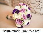 wonderful luxury wedding...   Shutterstock . vector #1092936125