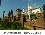 Small photo of Masjid Menara Kudus, Jawa Tengah Indonesia terlihat dari sisi utara 11 Juni 2017