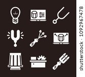 tool icon set   filled...   Shutterstock .eps vector #1092967478