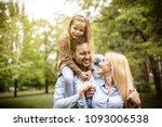 young happy family spending... | Shutterstock . vector #1093006538