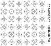 seamless abstract black texture ... | Shutterstock . vector #1093009922