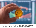 monero digital crypto currency... | Shutterstock . vector #1093014176