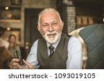smiling senior businessmen....   Shutterstock . vector #1093019105