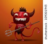 Little Red Devil  Vector 02