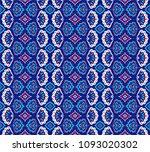 geometric folklore ornament.... | Shutterstock .eps vector #1093020302