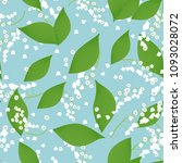 seamless pattern with vector... | Shutterstock .eps vector #1093028072