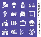 set of 16 other filled icons... | Shutterstock .eps vector #1093050182