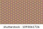colorful geometric pattern in... | Shutterstock . vector #1093061726