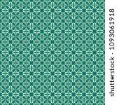 green geometric pattern in...   Shutterstock . vector #1093061918