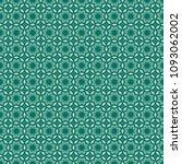 green geometric pattern in...   Shutterstock . vector #1093062002