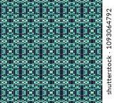 green geometric pattern in...   Shutterstock . vector #1093064792