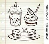 Frozen Yogurt Pancake And Soft...