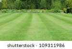 peaceful garden with a freshly... | Shutterstock . vector #109311986