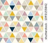 bauhaus pattern background... | Shutterstock .eps vector #1093155842