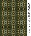 green geometric pattern in...   Shutterstock . vector #1093184945