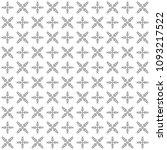 seamless abstract black texture ... | Shutterstock . vector #1093217522