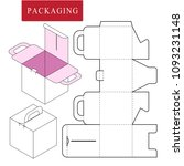 packaging for cosmetic or... | Shutterstock .eps vector #1093231148