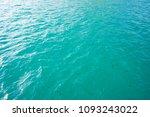 blue sea water texture...   Shutterstock . vector #1093243022
