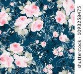 watercolor seamless pattern... | Shutterstock . vector #1093258475