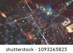 abstract tech background 3d... | Shutterstock . vector #1093265825