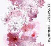 blossom cherry  sakura  flowers ... | Shutterstock . vector #1093292768