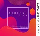 digital banner design.... | Shutterstock .eps vector #1093294472