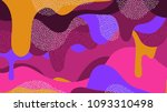 camouflage colorful pattern | Shutterstock . vector #1093310498