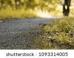 close up of asphalt road with...   Shutterstock . vector #1093314005