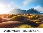 majestic landscape on sunny day.... | Shutterstock . vector #1093325378